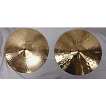 Paiste 13in Signature Hi Hat Pair (Sound Edge Top, Power Bottom) Cymbal