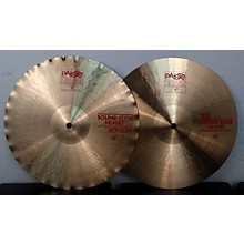 Paiste 13in Sound Edge Hi Hat Pair Cymbal