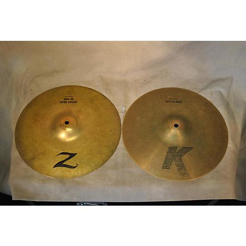 Zildjian 13in Z Custom Dyno Beat Hi Hat Cymbal-thumbnail