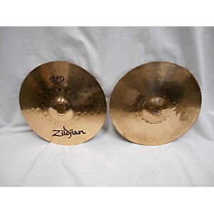 Pre-owned Zildjian 13 inch ZBT Hi Hat Pair Cymbal by Zildjian