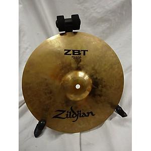 Pre-owned Zildjian 13 inch ZBT Hi Hat Pair Cymbal