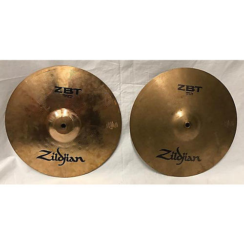 Zildjian 13in ZBT Plus Rock Hi Hats Pair Cymbal