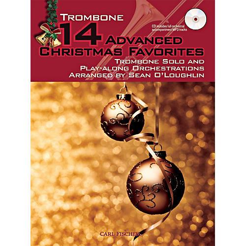 Carl Fischer 14 Advanced Christmas Favorites (Book + CD)-thumbnail