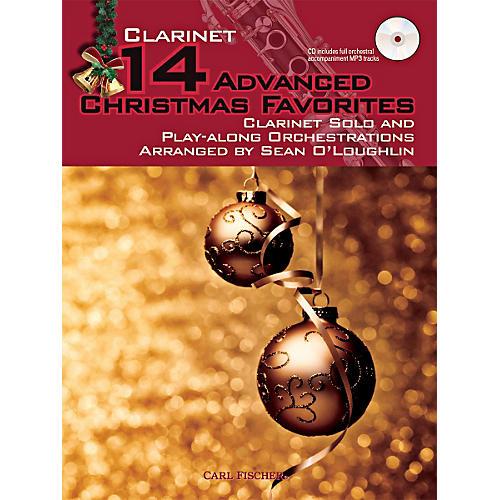 Carl Fischer 14 Advanced Christmas Favorites (Book + CD)