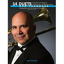 Carl Fischer 14 Duets for Trombone Book