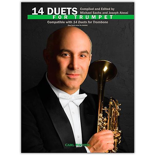 Carl Fischer 14 Duets for Trumpet Book