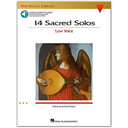 Hal Leonard 14 Sacred Solos for Low Voice (Book/Online Audio)