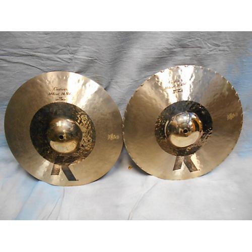 Zildjian 14.25in K Custom Dark Hi Hat Pair Cymbal