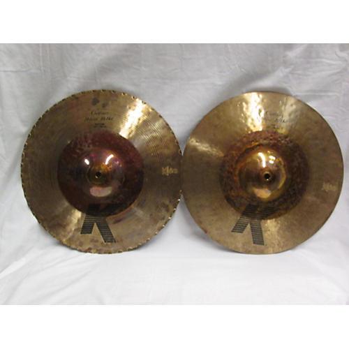 Zildjian 14.25in K Custom Hybrid Hi Hat Pair Cymbal-thumbnail