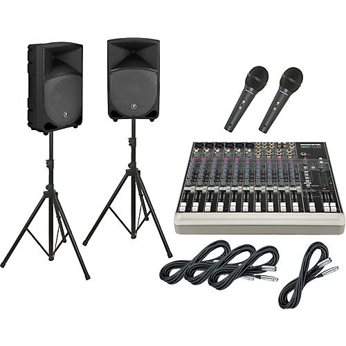 Mackie 1402-VLZ3 / TH-12A PA Package