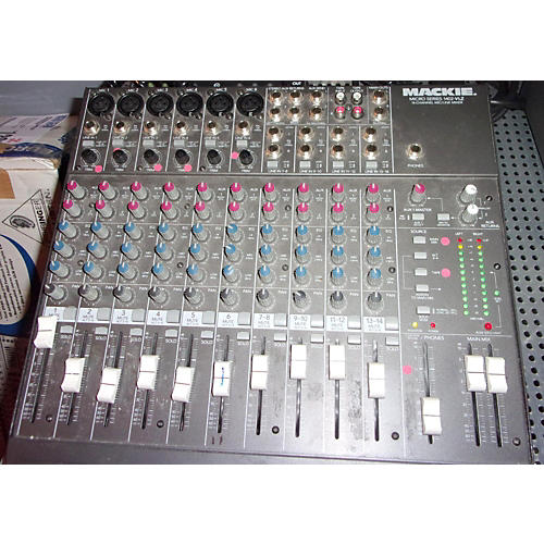 Mackie 1402VLZ Unpowered Mixer