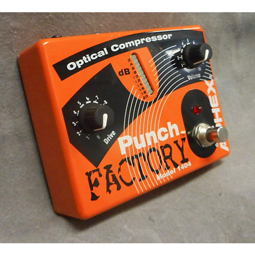 Aphex 1404 Punch Factory Optical Compressor Orange Effect Pedal-thumbnail