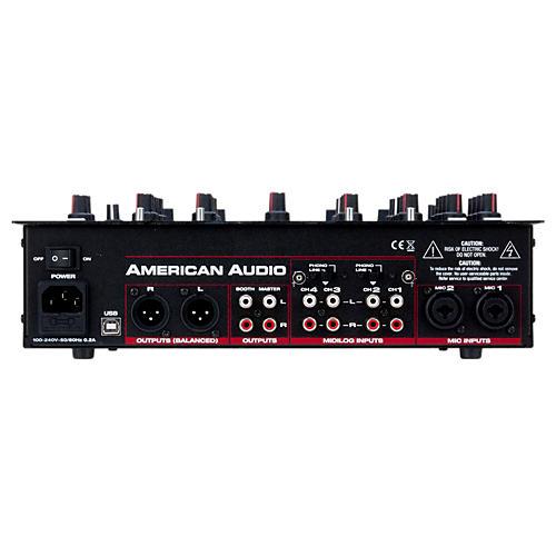 American Audio 14MXR 4-Channel MIDILOG DJ Mixer-thumbnail