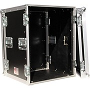 "Eurolite 14U 19"" Rack Mount Amp Case with Casters"