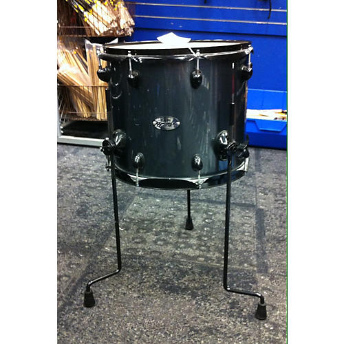 used pdp by dw 14x12 14x12 floor tom demon drive gunmetal