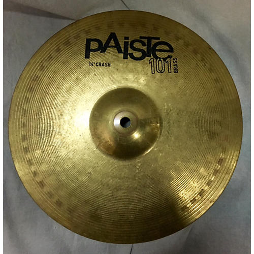 Paiste 14in 101 Brass Crash Cymbal  33