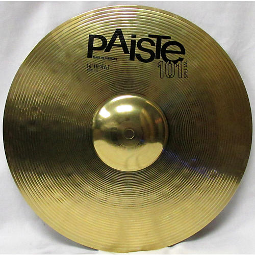 used paiste 14in 101 special cymbal 33 guitar center. Black Bedroom Furniture Sets. Home Design Ideas