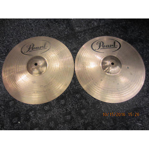 Pearl 14in 14 Inch Hi Hat Pair Cymbal
