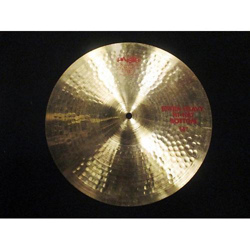 Paiste 14in 2002 Extra Heavy HiHat BOT Cymbal