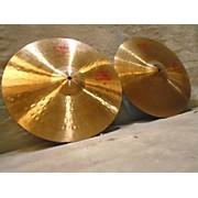 Paiste 14in 2002 Heavy Hi Hat Set Cymbal