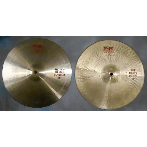 Paiste 14in 2002 Heavy Hihats ( Pair ) Cymbal-thumbnail