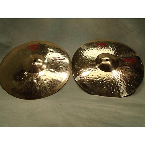 Paiste 14in 2002 Medium Hi Hat Pair Cymbal-thumbnail