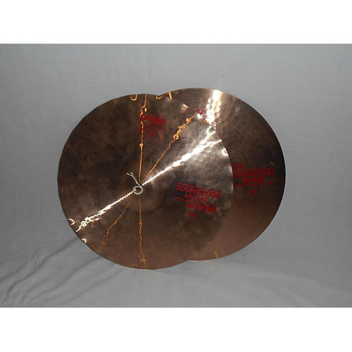 Paiste 14in 2002 Medium Hi Hat Pair Cymbal-thumbnail