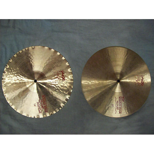 Paiste 14in 2002 Sound Edge Hi Hats Cymbal