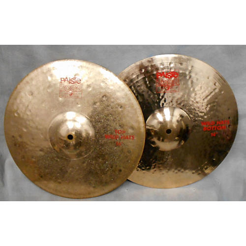 Paiste 14in 2002 Wild Hats Cymbal
