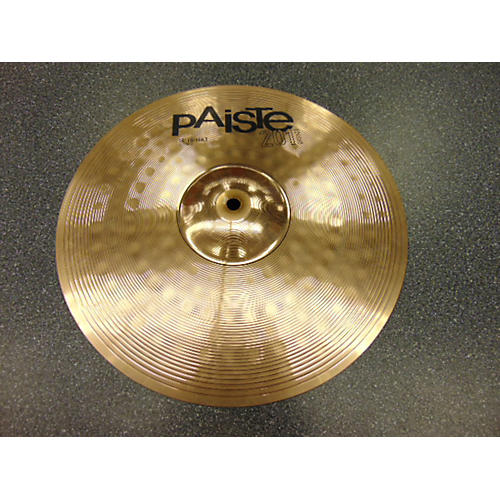 used paiste 14in 201 bronze top cymbal guitar center. Black Bedroom Furniture Sets. Home Design Ideas