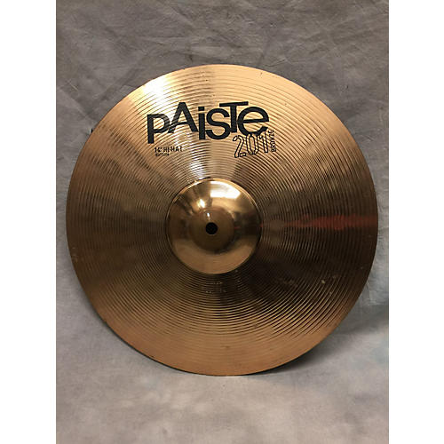 used paiste 14in 201 bronze cymbal guitar center. Black Bedroom Furniture Sets. Home Design Ideas