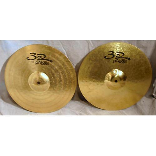 Paiste 14in 302 Hi Hat Pair Cymbal-thumbnail