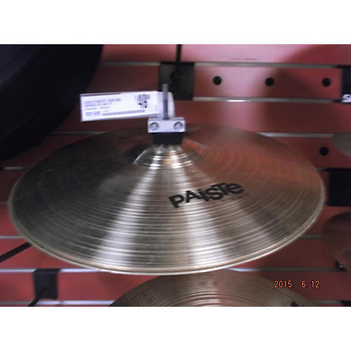 Paiste 14in 802 Series Hi Hat Pair Cymbal