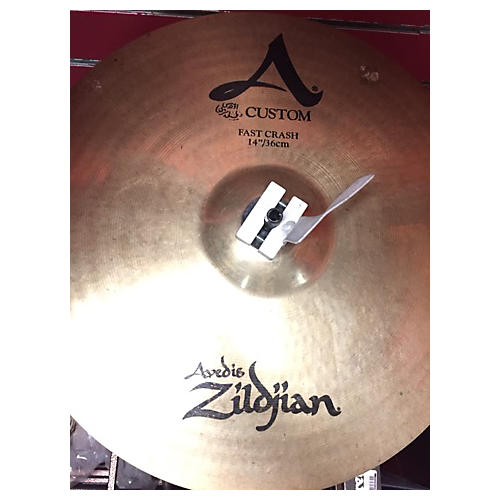 Zildjian 14in A Custom Fast Crash Cymbal  33