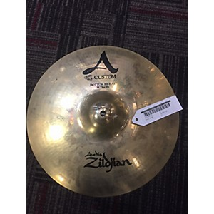 Pre-owned Zildjian 14 inch A Custom Hi Hat Bottom Cymbal by Zildjian
