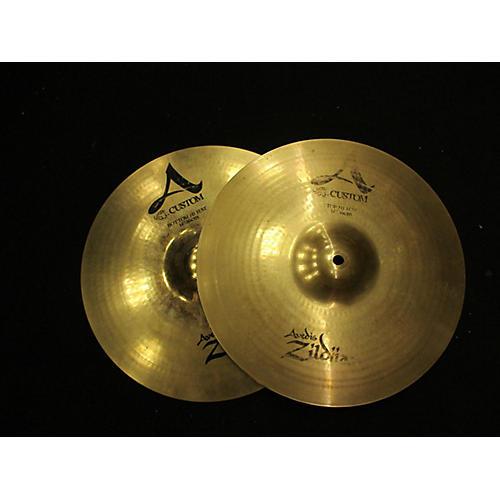 Zildjian 14in A Custom Hi Hat Pair Cymbal-thumbnail