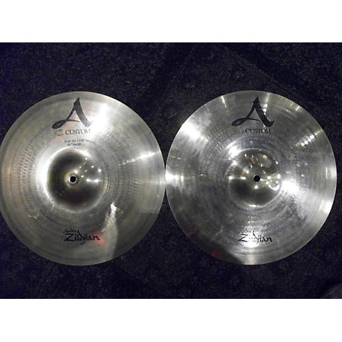 Zildjian 14in A Custom Hi Hat Pair Cymbal