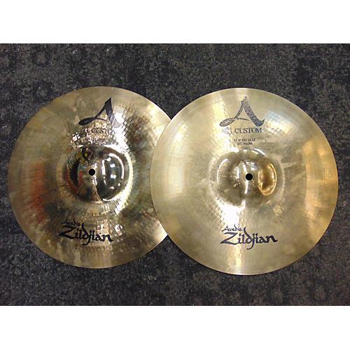 Zildjian 14in A Custom Hi Hat Pair Cymbal