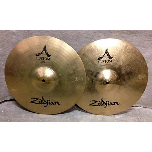 Zildjian 14in A Custom Hi Hat Pair-thumbnail