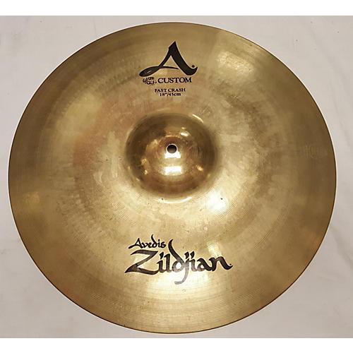 Zildjian 14in A Custom Hi Hat Top Cymbal