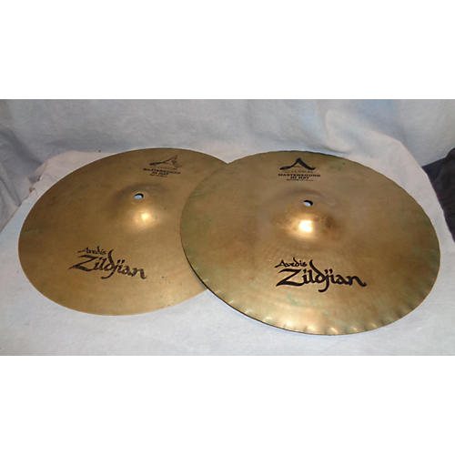 Zildjian 14in A Custom Mastersound Hi Hat Pair Cymbal-thumbnail