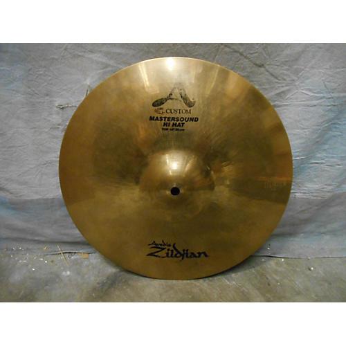 Zildjian 14in A Custom Mastersound Hi Hat Top Cymbal