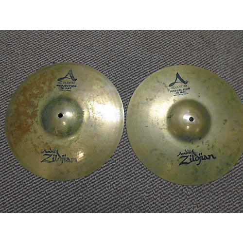 Zildjian 14in A Custom Projection Hi Hats Cymbal-thumbnail