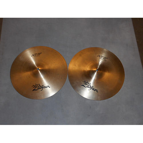 Zildjian 14in A Custom Rezo/ A New Beat Pair Cymbal-thumbnail