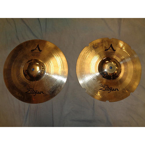 Zildjian 14in A Custom Rezo Hi Hat Pair Bronze Cymbal
