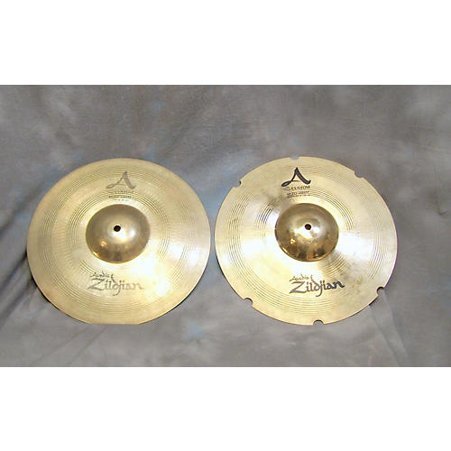 Zildjian 14in A Custom Rezo Hi Hat Pair Cymbal-thumbnail