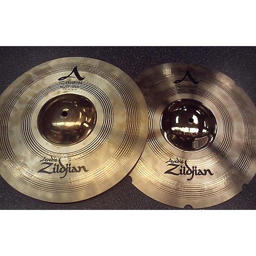 Zildjian 14in A Custom Rezo Hi Hat Pair Cymbal-thumbnail