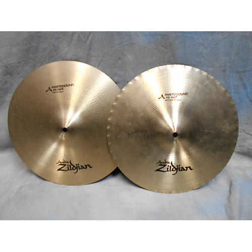 Zildjian 14in A Mastersound Hi Hat Pair Cymbal