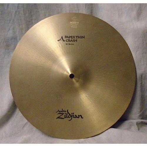 Zildjian 14in A PAPER THIN Cymbal