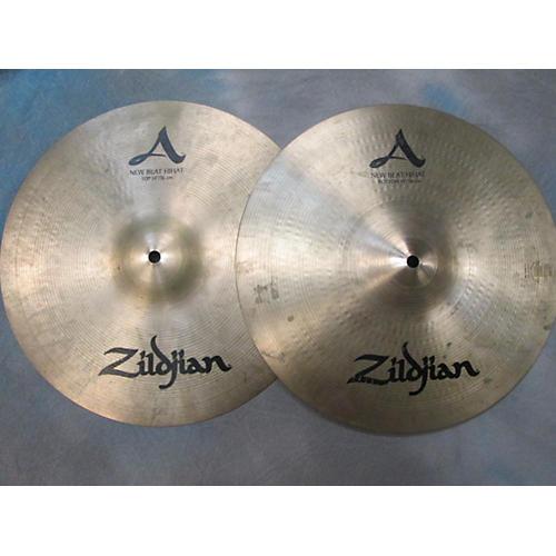 Zildjian 14in A Series New Beat Hi Hat Pair Cymbal-thumbnail